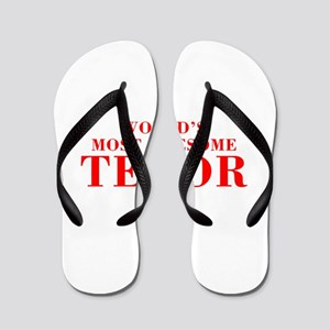 WORLDS MOST AWESOME Tenor-Bod red 300 Flip Flops