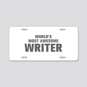 WORLDS MOST AWESOME Writer-Akz gray 500 Aluminum L