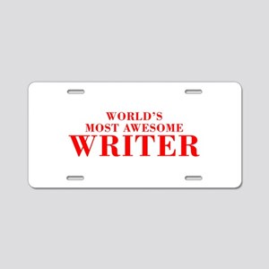 WORLDS MOST AWESOME Writer-Bod red 300 Aluminum Li