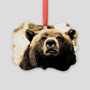 Bear Picture Ornament