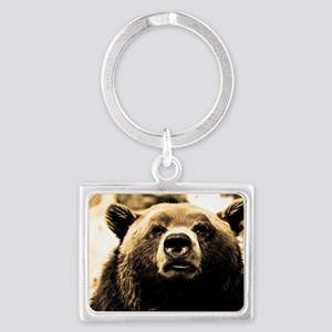 Bear Landscape Keychain