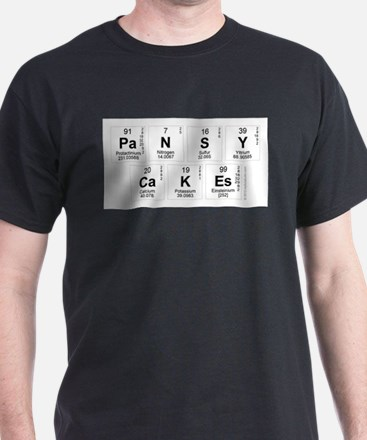 Pansycakes Periodic Table T-Shirt
