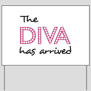 Diva Yard Signs Cafepress
