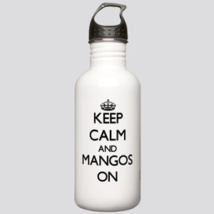 Keep calm and Mangos O Stainless Water Bottle 1.0L
