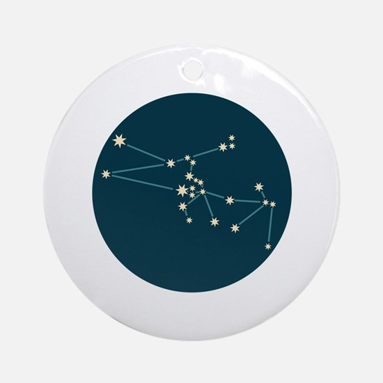 Taurus Constellation Ornament (Round)