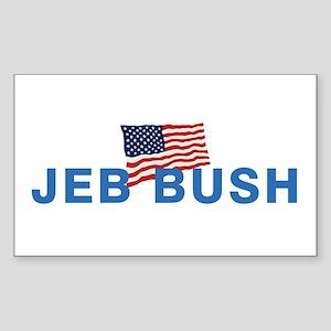 Jeb Bush 2016 Sticker (Rectangle)