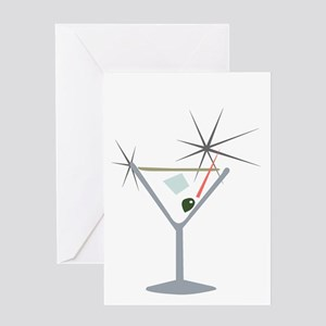 Partini Retro Lounge Greeting Card