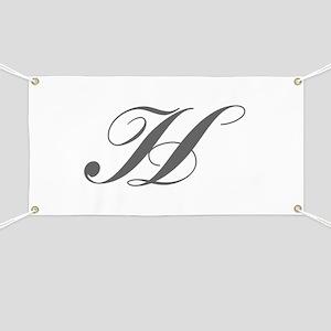 H-Lou gray Banner