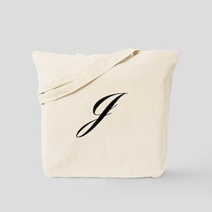 J-Lou black Tote Bag