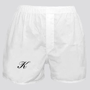 K-Lou black Boxer Shorts