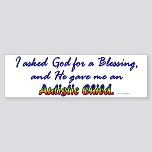 Blessing (1 Child) Bumper Sticker