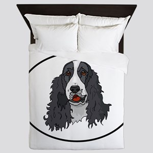 Springer Spaniel Queen Duvet