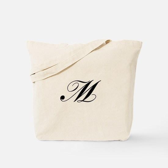 M-Lou black Tote Bag