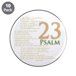 """Psalm 23 3.5"""" Button (10 Pack)"""