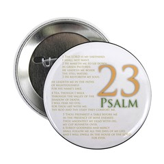 "Psalm 23 2.25"" Button (10 Pack)"