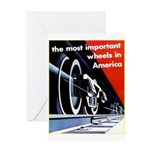 The most important Wheels- Greeting Card