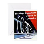 The most important Wheels- Greeting Cards (Pk of 2