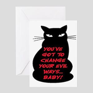EVIL WAYS #2 Greeting Card