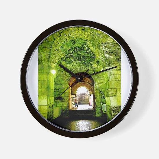 Guardian Of The Light Wall Clock