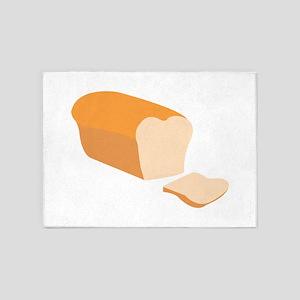 Sliced Bread 5'x7'Area Rug