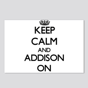 Keep Calm and Addison ON Postcards (Package of 8)