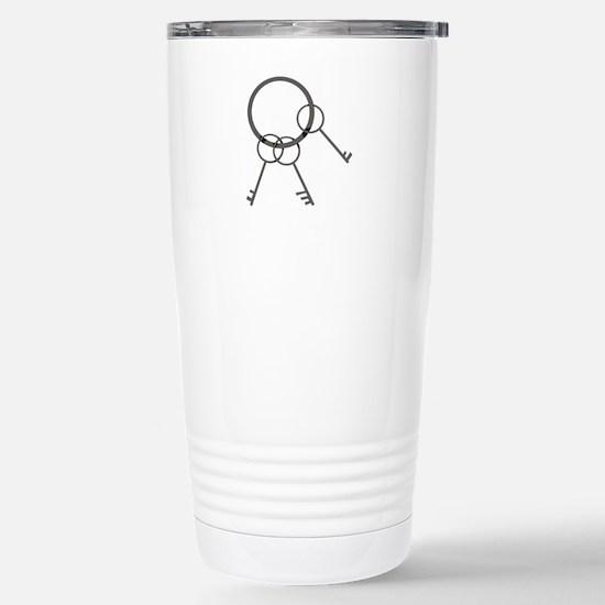 Key Ring Travel Mug