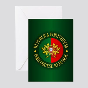 Portugal (rd) Greeting Cards