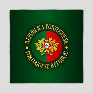 Portugal (rd) Queen Duvet
