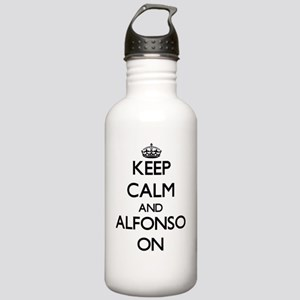 Keep Calm and Alfonso Stainless Water Bottle 1.0L
