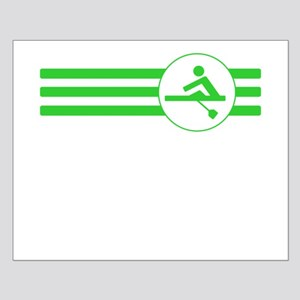 Rower Stripes (Green) Posters