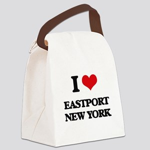 I love Eastport New York Canvas Lunch Bag