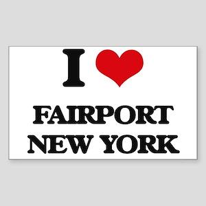I love Fairport New York Sticker