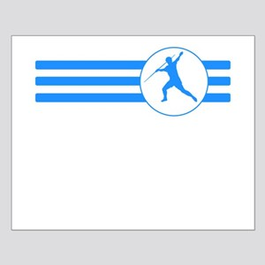 Javelin Throw Stripes (Blue) Posters