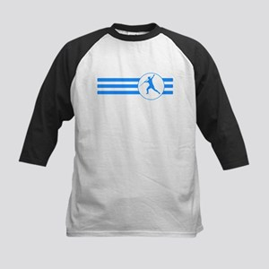 Javelin Throw Stripes (Blue) Baseball Jersey