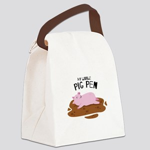 My Pig Pen Canvas Lunch Bag