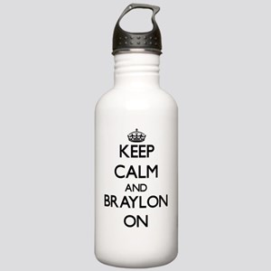 Keep Calm and Braylon Stainless Water Bottle 1.0L
