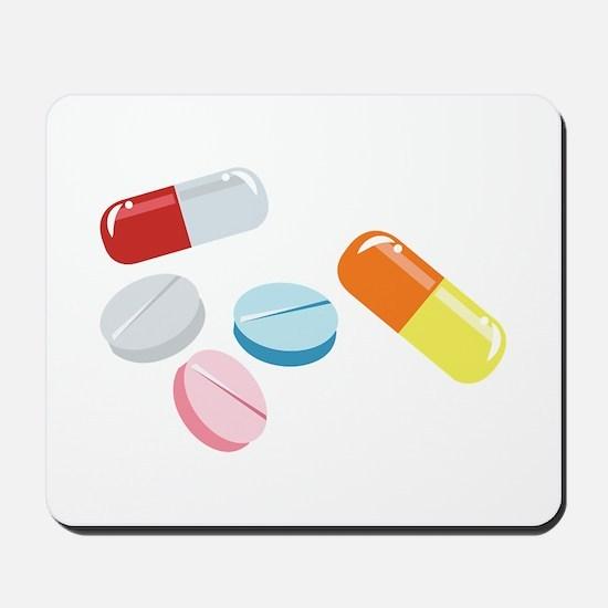 Mixed Pills Mousepad