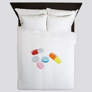Mixed Pills Queen Duvet