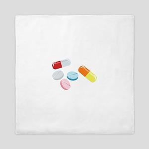 Mixed Pills Queen Duvet