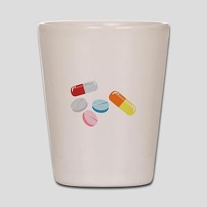 Mixed Pills Shot Glass