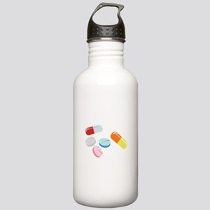 Mixed Pills Water Bottle