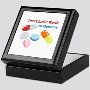 Colorful World of Medicine Keepsake Box