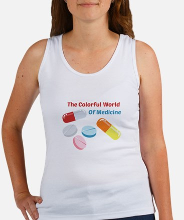 Colorful World of Medicine Tank Top