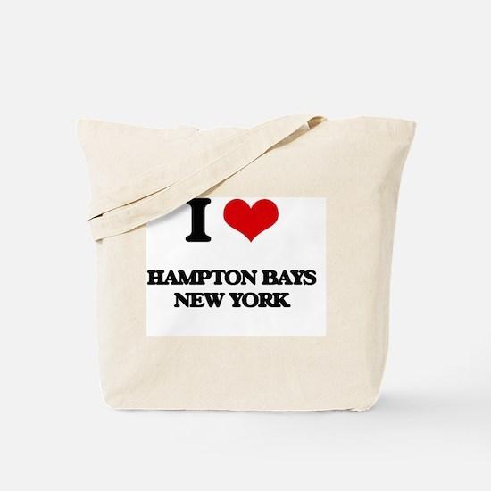 I love Hampton Bays New York Tote Bag