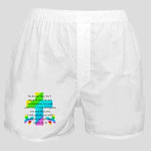 PRETTY ISAIAH 41:10 Boxer Shorts