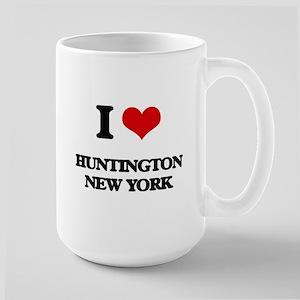 I love Huntington New York Mugs
