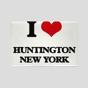 I love Huntington New York Magnets