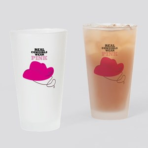 Real Cowgirls Drinking Glass