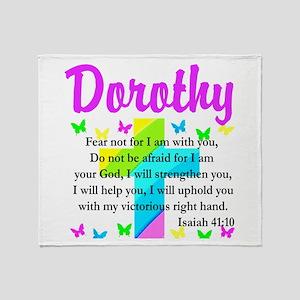 JOYOUS ISAIAH 41:10 Throw Blanket