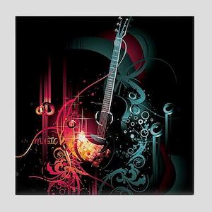 Electric Guitar Tile Coaster